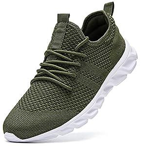 Homme Running Sport Chaussure Detente Fitness Sneakers Mesh Gym Outdoor Trail Elastique Tennis Training Jogging Walking…
