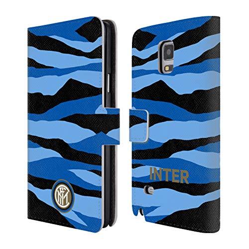 Head Case Designs Ufficiale Inter Milan 2018/19 Crest Cover in Pelle a Portafoglio Compatibile con Samsung Telefoni 1