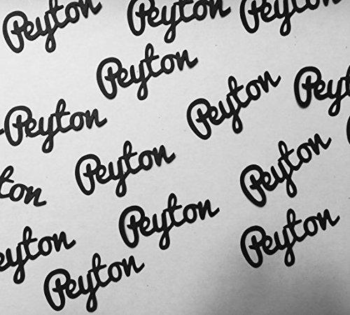 Name Confetti - Personalized Confetti in your choice of color