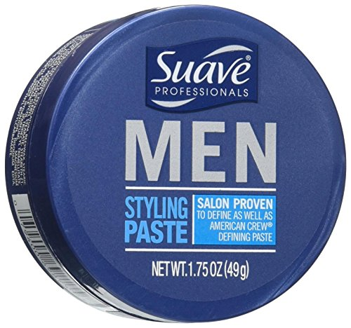 3 Lot Suave Professionals Mens Hair Styling Paste Medium Hol
