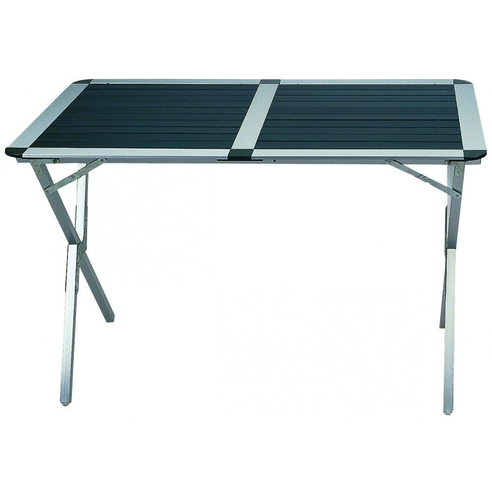 Bel-sol Campingbedarf Aluminium Rolltisch Medium, 31498