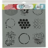 Crafters Workshop Template, 12 by 12-Inch, Well Rounded