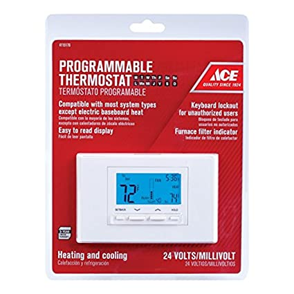 Ace 24 Volt Heating/Cooling Programmable Thermostat