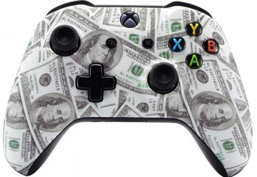 Money Xbox One S/X Rapid Fire Custom Modded Controller 40 Mods for All Major Shooter Games WW2 (with 3.5 Jack)