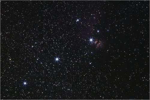 Poster 30 x 20 cm: Nebula in Orion's belt by Luis Argerich
