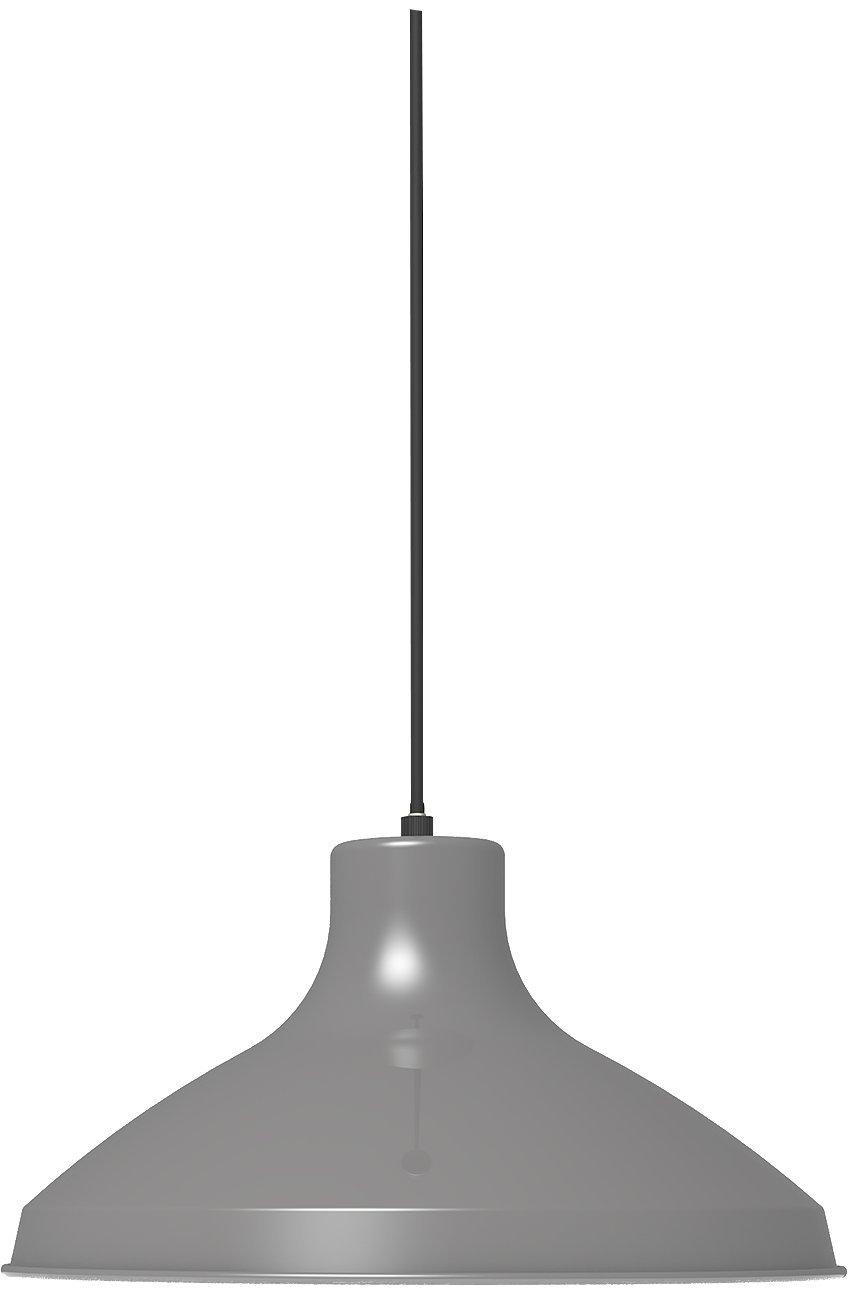 日本製 ovject オブジェクト エナメルランプ 35cm ランプシェード ペンダントライト ホーロー (グレー) B071KWXCHB グレー