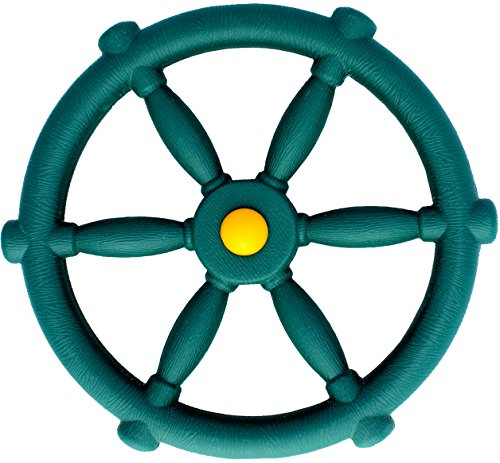 Jungle Gym Kingdom Pirate Ships Wheel - Green (Steering Set Swing Wheel)