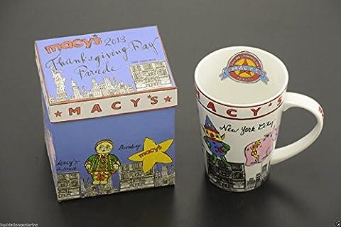 2013 Macy's Rosanna New York Thanksgiving Day Parade Latte Mug Collectible 14 OZ (The Thanksgiving Day Parade)