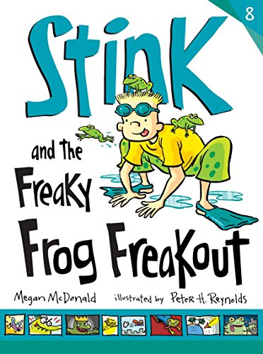 Stink and the Freaky Frog Freakout by Candlewick