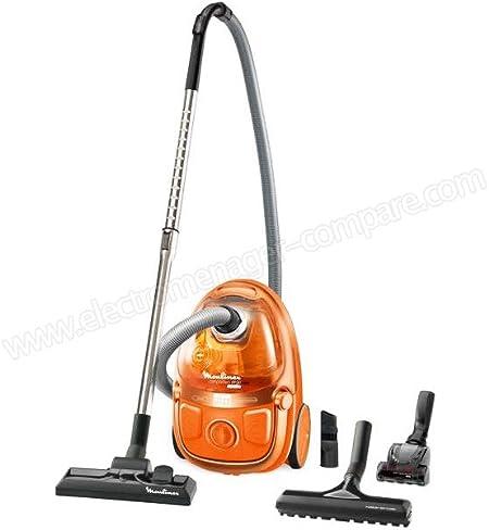 Aspirador sin bolsa clase A Moulinex mo5334 Pa Compacteo Ergo Cyclonic naranja: Amazon.es: Hogar