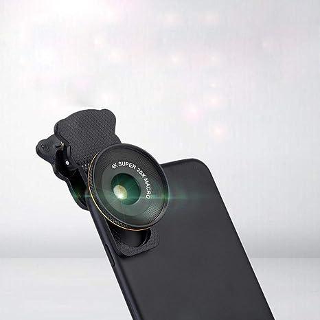 YANRR Teléfono móvil Universal 20 X Macro Lente de Primer Plano rodaje Escena Detalle de Zoom: Amazon.es: Jardín