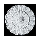 HMH HM6004 Flat Acanthus Ceiling Medallion-ANY FINISH