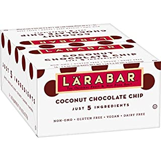 Larabar Gluten Free Bar Coconut Chocolate Chip, 16 ct, 25.6 oz