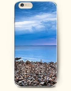 iphone 4s Sea and Beach - Hard Back Plastic Phone Cover SevenArc Authentic