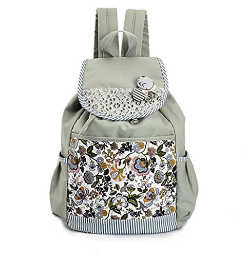 capacity Backpack Canvas Leisure Versatile Large Fashionable Womens 5Pqvw