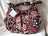 """VERA BRADLEY CARGO SLING BAG in the """"PUCCINI"""" Retired Pattern—-Beautifull Fall Colors, Bags Central"""