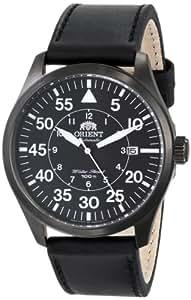 Orient Men's FER2A001B0 Flight Analog Display Japanese Automatic Black Watch