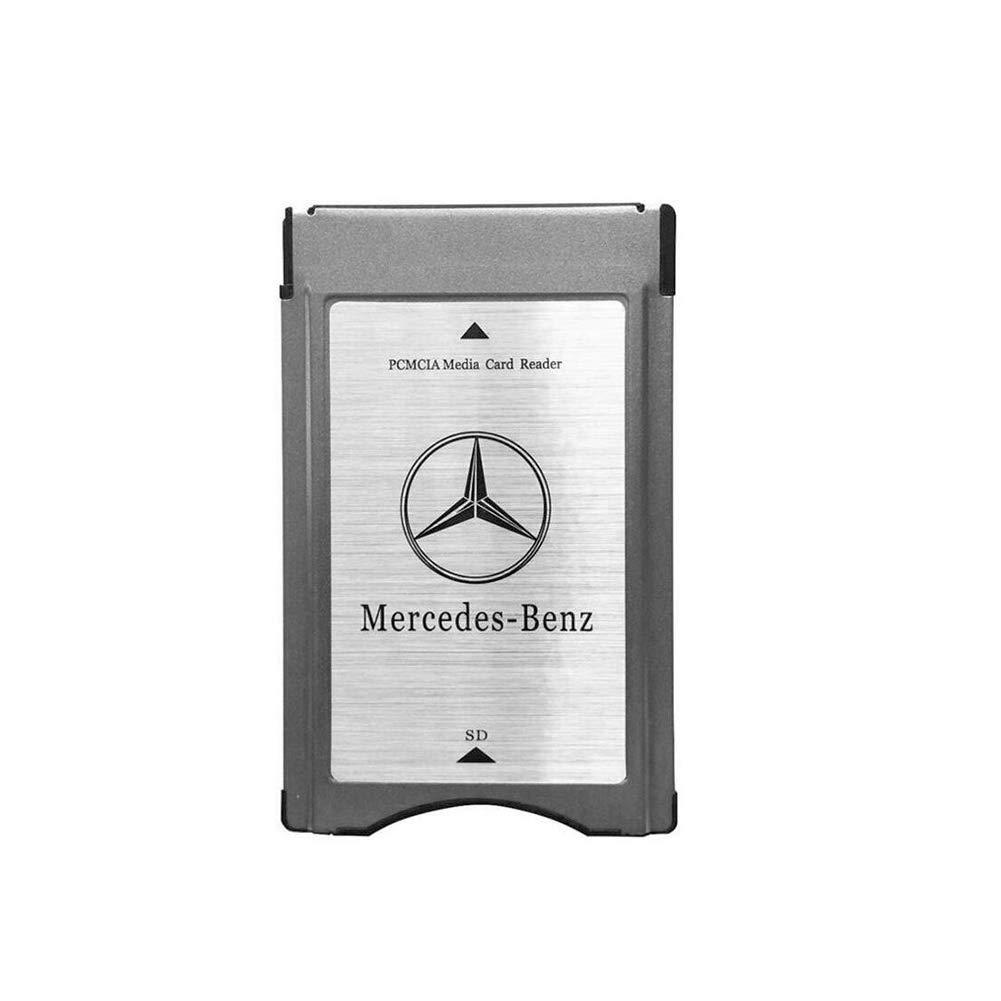 PCMCIA to SD Card Adapter for Mercedes-Benz W204 W205 W207 W218 W212 W221 W222 by HERCHR