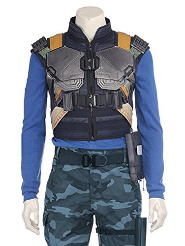 Mens Black Panther Erik Killmonger Michael B. Jordan Vest | XXL by Decrum