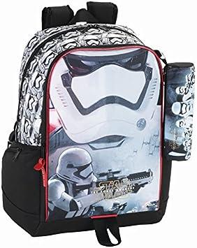 Star Wars – La Guerra De Las Galaxias Mochila, escolares. Con Estuche, estuche: Amazon.es: Juguetes y juegos