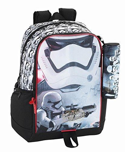 Star Wars - La Guerra De Las Galaxias Mochila, escolares. Con Estuche, estuche: Amazon.es: Juguetes y juegos