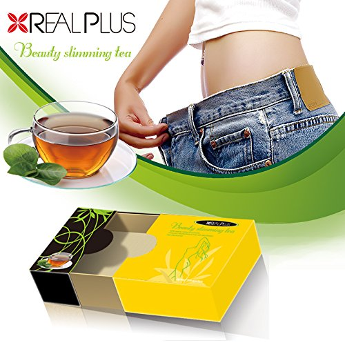 Best Herbal Slimming Tea - Natural Detox Cleanse Weight Loss Tea. A Teatox Diet Tea with 100% Natural Herbs and Organic Green Tea. Tastes Good, Relaxing. No Unpleasant Side Effects - 20 Tea Bags (Miracle Tea Morning)