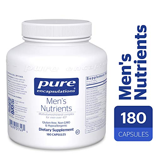 Pure Encapsulations - Men's Nutrients - Hypoallergenic Multivitamin/Mineral Complex for Men Over 40-180 Capsules by Pure Encapsulations (Image #9)