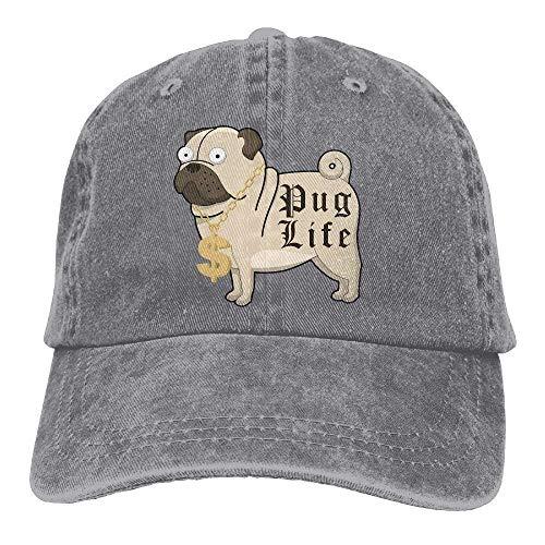 Cowgirl Hats Cap DEFFWB Hat Sport Denim Pug Women Life Cowboy Skull for Men xqz0rwZXaz