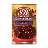 S & W kidney beans (drained weight 267g) 432g