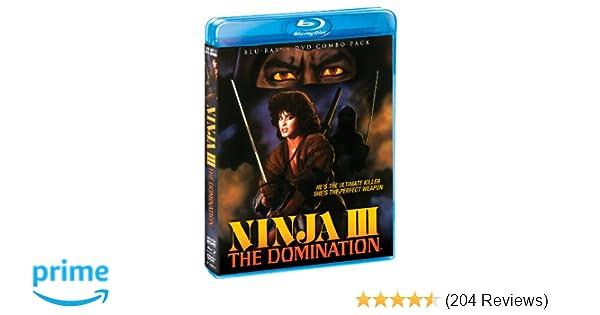 Amazon.com: Ninja III: The Domination [Blu-ray/DVD Combo ...