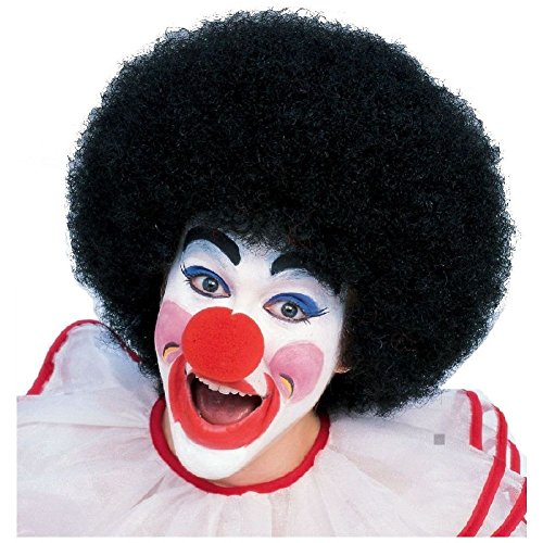 Clown Wig Adult Big Afro Circus Halloween Costume Fancy Dress
