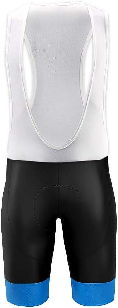 Men/'s Cycling Bib Shorts 4D Padded Bike Biking Pants Breath Compression Bicycle
