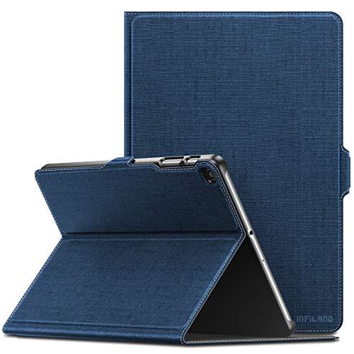 کیف چرمی Infiland برای تبلت سامسونگ مدل Galaxy Tab A 10.1 Inch  SM-T510/SM-T515 2019