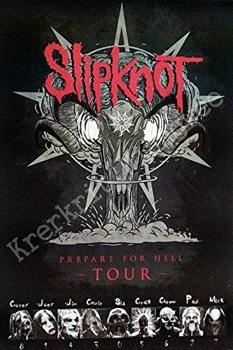 O-55075 Slipknot Music Poster#15 - Rare New - Image Print Photo (Slipknot Chris)