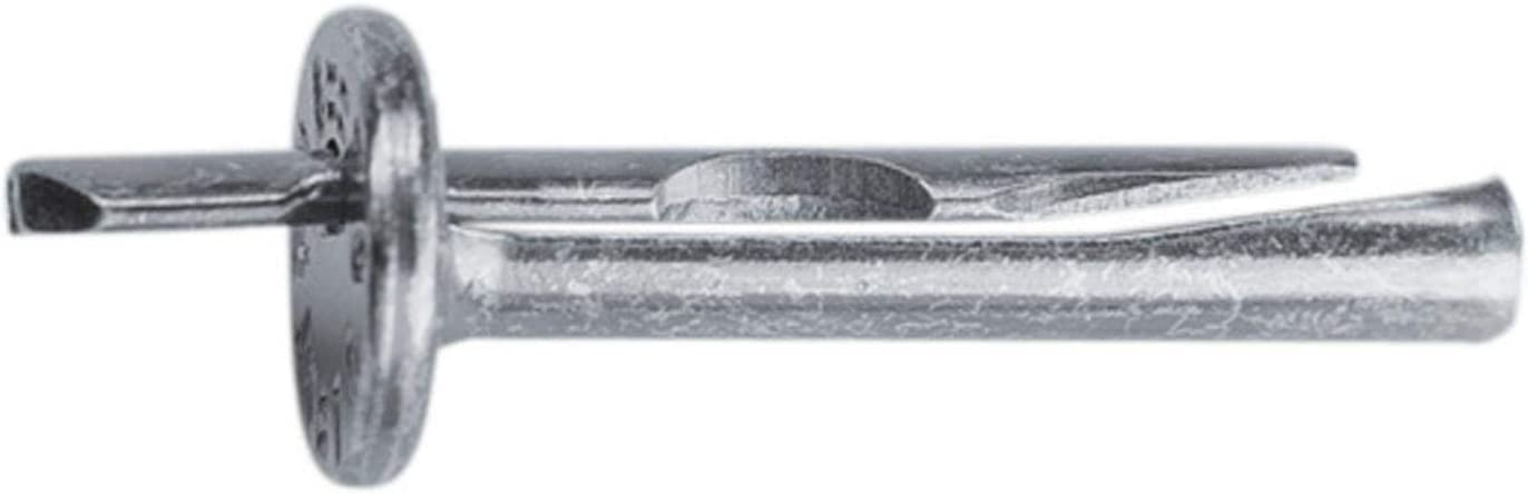 Deckennagel 6 x 40 mm 100 Stk Direktabh/änger Metall CD Profil Montage D/übel Nagel Deckenanker