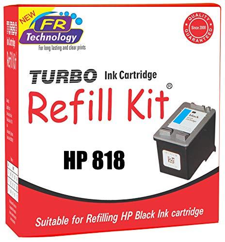 Turbo Ink Cartridge Refill Kit for hp 818 Black Ink Cartridge