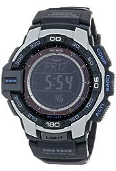 "Casio Men's PRG-270-7CR ""Pro Trek"" Resin Digital Solar Watch"