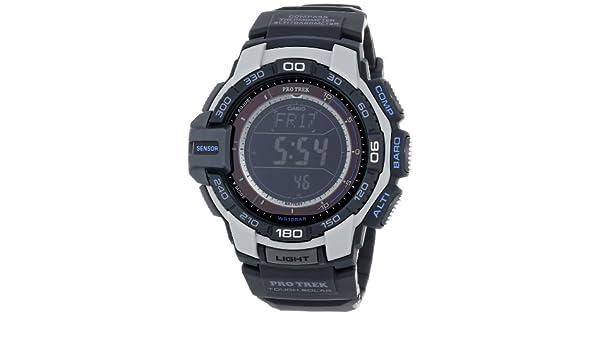 Casio PRG-270-7CR - Reloj para Hombres, Correa de plástico Color Negro: Amazon.es: Relojes