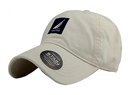 161722f8 NAUTICA Adjustable Solid Cap Hat at Amazon Men's Clothing store: