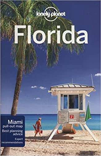 Florida Travel Guide Map.Lonely Planet Florida Travel Guide Lib
