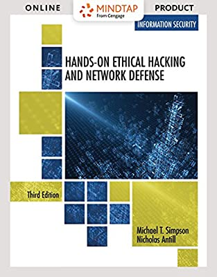 MindTap Information Security for Simpson/Antill's Hands-On Ethical Hacking and Network Defense, 3rd Edition