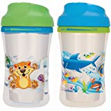 NUK Gerber Graduates Advance 2 Piece with Seal Zone Insulated Cup-Like Rim Sippy Cup, Boy, 9 Ounce (Designs May Vary)