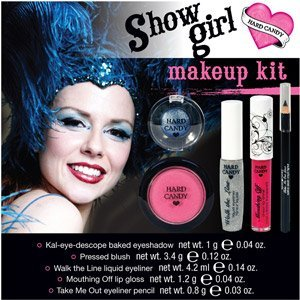 Hard Candy ShowGirl 5 Piece Beauty Makeup Kit