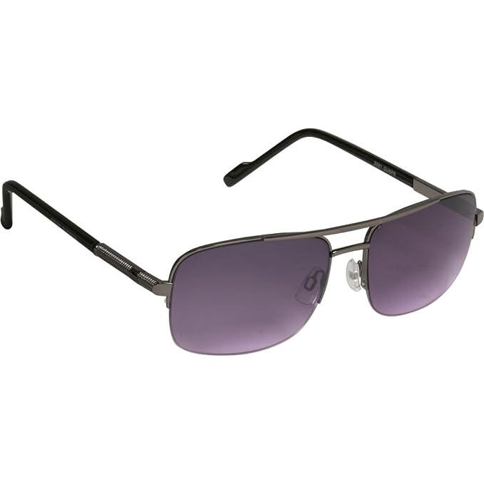 da391c746d4b0 Steve Madden Men s S091 GUNPR Aviator Sunglasses