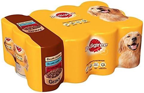 Pedigree Chunks in Gravy Selection (12x400g) – Dogs Corner
