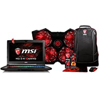 XOTIC MSI GT62VR DOMINATOR PRO-239 W / FREE BUNDLE! -15.6 FHD IPS-Level Screen | Intel Kaby lake i7-7700HQ | NVIDIA GeForce GTX 1070 8GB | 32GB RAM | 256GB SanDisk SSD | 1TB HDD | Win 10