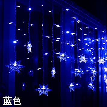 4Mled Snowflake String Lightsfor Girls Bedroom Party Garden Christmas Tree  Festival Home Wedding Birthday Indoor Outdoor - Amazon.com : 4Mled Snowflake String Lightsfor Girls Bedroom Party
