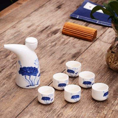 mh-rita-ceramic-wine-set-horn-moutai-wine-liquor-liquor-wine-cup-small-wine-wine-6-cup-l