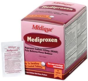 Medique 23750 Mediproxen, 50 Tablets