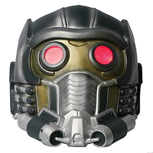 Cateye Halloween Lord Helmet Light up Plastic Mask Adult -